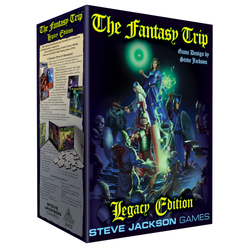 The Fantasy Trip Legacy Edition cover
