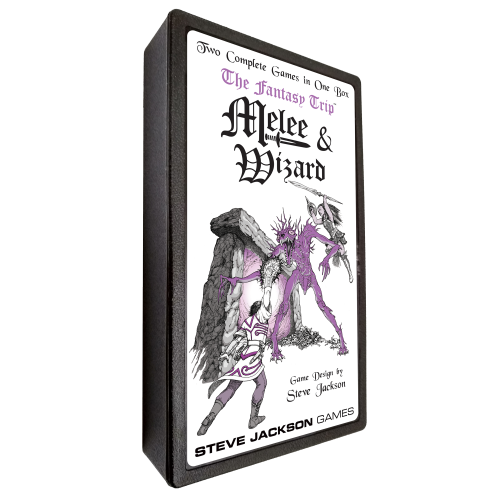 The Fantasy Trip: Melee & Wizard Pocket Box cover