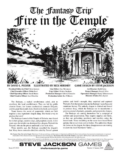 Fire in the Temple cover image