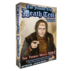 Death Test game box