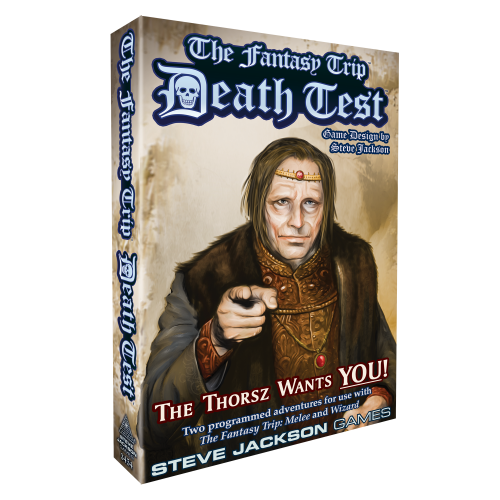 The Fantasy Trip: Death Test -  Steve Jackson Games