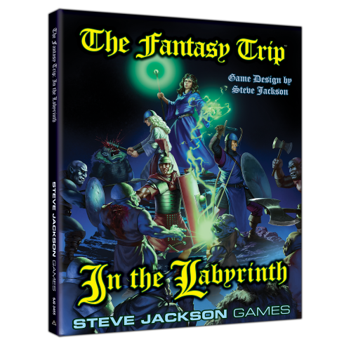 The Fantasy Trip: In the Labyrinth cover