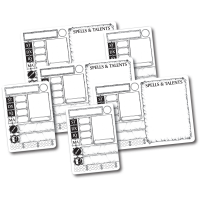 Blank Dry-Erase Character Cards