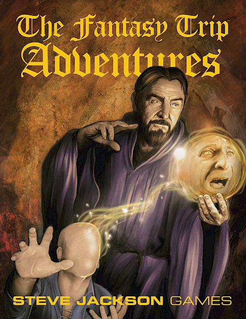The Fantasy Trip Adventures cover