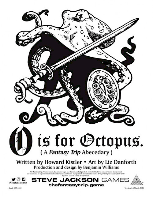 O is for Octopus cover