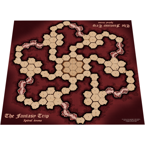 Spiral Arena: Playmat Style B cover